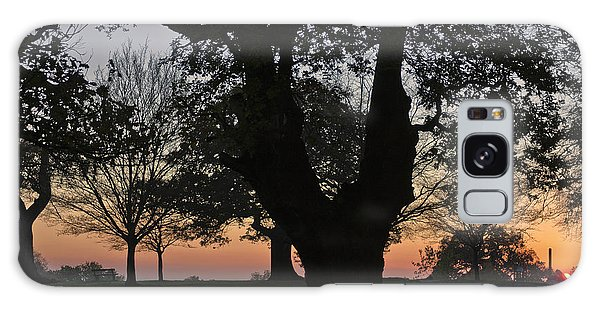 Sunset In Richmond Park Galaxy Case