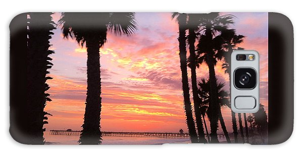 Sunset In San Clemente Galaxy Case