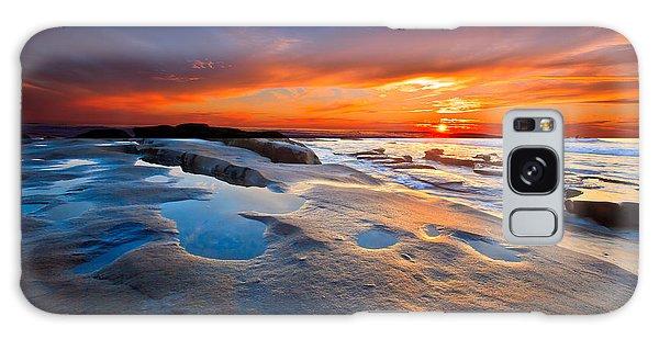 Sunset In San Diego Galaxy Case