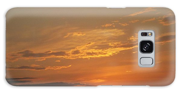 Sunset In St. Peters Galaxy Case by Kelly Awad