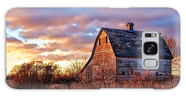 Nebraska Galaxy Case - Sunset In The Country by Nikolyn McDonald