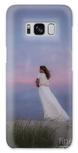 Sunset In The Dunes Galaxy Case