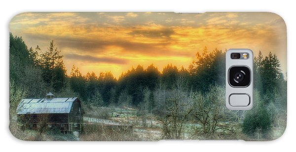 Sunset In The Valley Galaxy Case by Jeff Cook