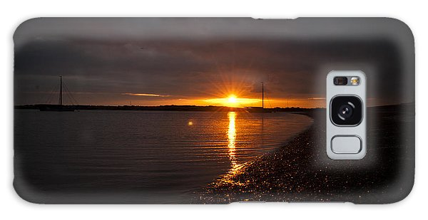 Sunset In West Mersea Galaxy Case