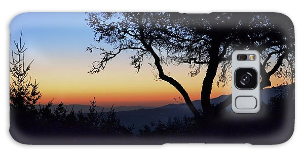 Sunset In Woodside  Galaxy Case by Alex King