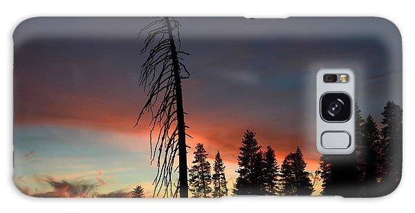 Sunset In Yosemite Galaxy Case