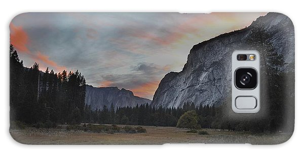 Sunset In Yosemite Valley Galaxy Case by Alex King