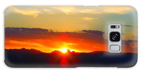 Sunset Galaxy Case