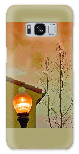 Sunset Lantern Galaxy Case
