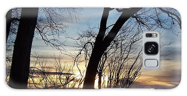 Sunset 1 Galaxy Case by Larry Campbell