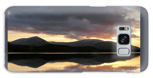 Sunset - Loch Morlich - Scotland Galaxy Case