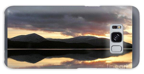 Sunset - Loch Morlich - Scotland Galaxy Case