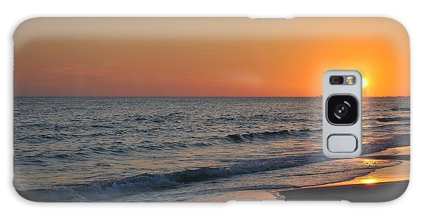 Sunset Love Galaxy Case by Michele Kaiser