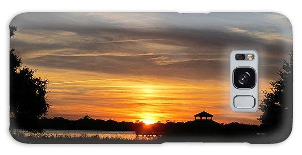 Sunset Mellow Love  Galaxy Case by Joetta Beauford
