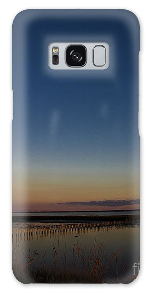 Sunset Moon Galaxy Case by Ursula Lawrence