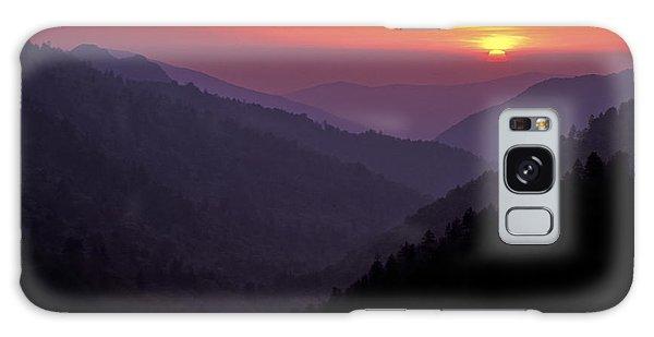 Sunset Morton Overlook Galaxy Case