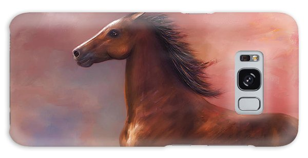 Sunset Mustang Galaxy Case by Kari Nanstad