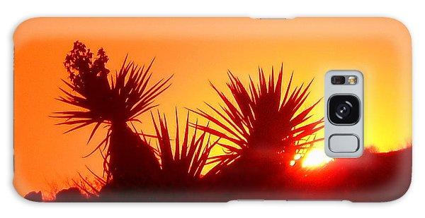 Sunset Near Castle Rock Galaxy Case