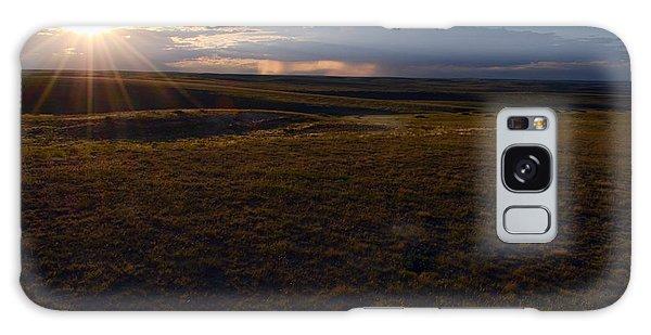 Sunset Near Limon Galaxy Case by Clarice  Lakota