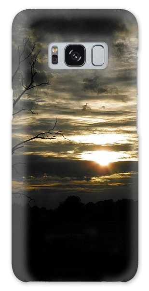 Sunset Of Life Galaxy Case by Nick Kirby
