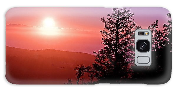 Sunset Off Mt Erie Washington Art Prints Galaxy Case