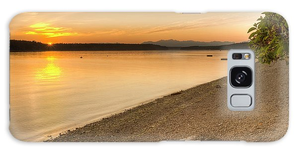 Sunset Olympic Peninsula, Washington Galaxy Case