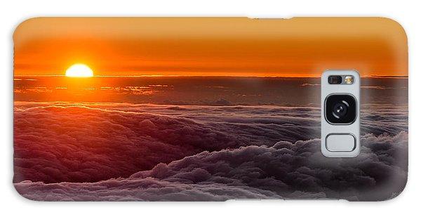 Sunset On Cloud City 1 Galaxy Case