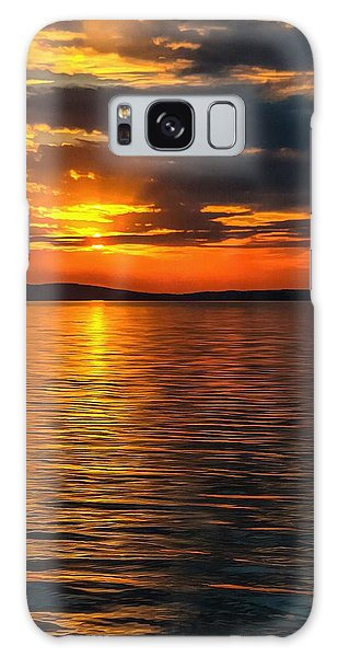 Sunset On Degray Lake Galaxy Case