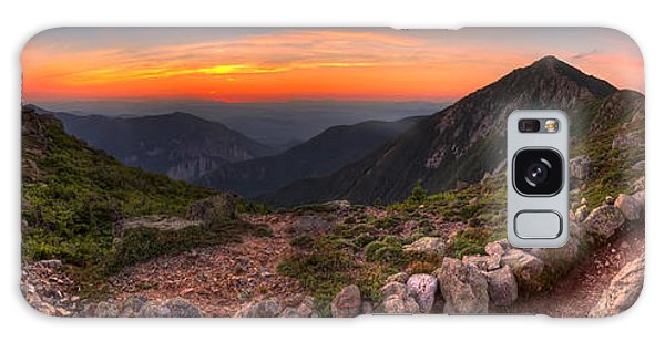 Sunset On Franconia Ridge Galaxy Case