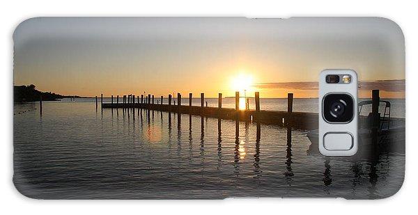 Sunset On Key Largo Galaxy Case by Christiane Schulze Art And Photography