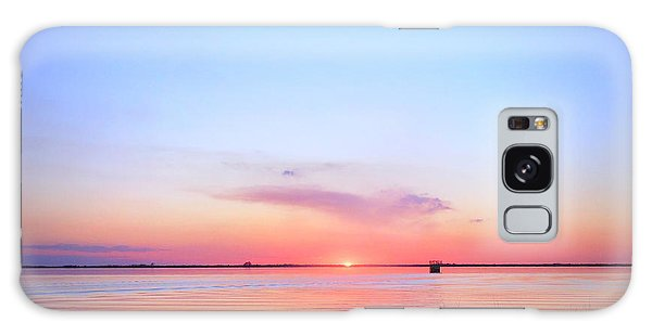 Sunset On Lake Washington Galaxy Case