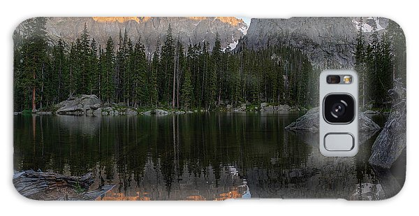 Indian Peaks Wilderness Galaxy Case - Sunset On Lone Eagle Peak by Aaron Spong