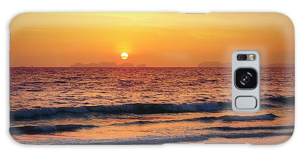 Sunset On Phiphi Island Galaxy Case