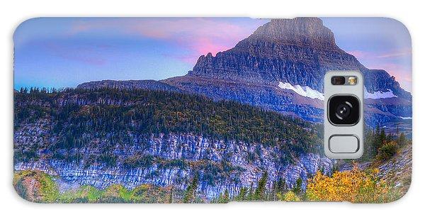 Sunset On Reynolds Mountain Galaxy Case