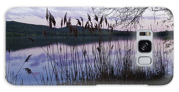 Sunset On Rockland Lake - New York Galaxy Case