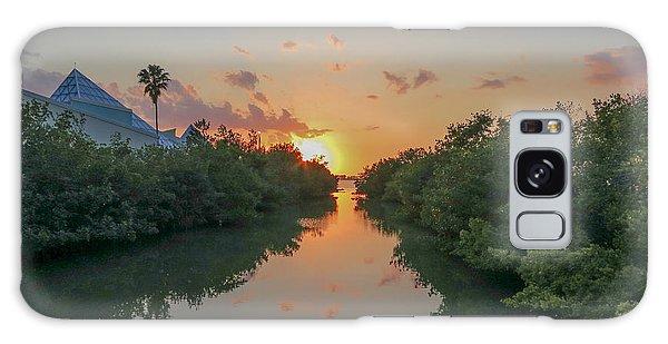 Sunset On Sarasota Bay Galaxy Case