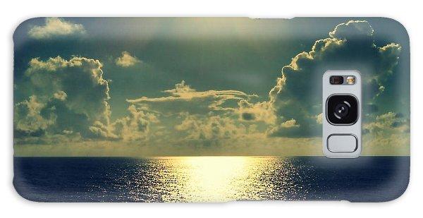 Sunset On The Atlantic Ocean Galaxy Case by Paulo Guimaraes