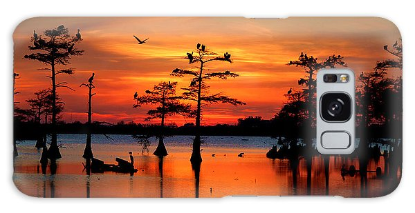 Sunset On The Bayou Galaxy S8 Case