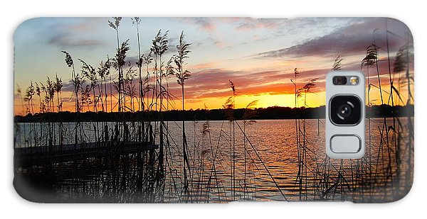 Sunset On The Bayou Galaxy Case by Michele Kaiser