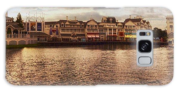 Sunset On The Boardwalk Walt Disney World Galaxy Case by Thomas Woolworth