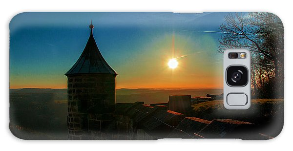 Sunset On The Fortress Koenigstein Galaxy Case