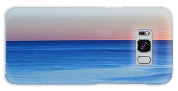 Sunset On The Horizon Galaxy Case by Angi Parks