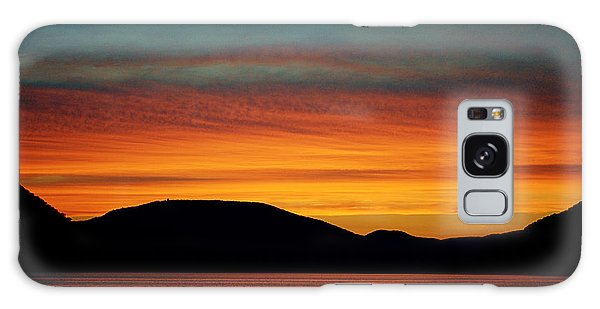 Sunset On The Hudson Galaxy Case