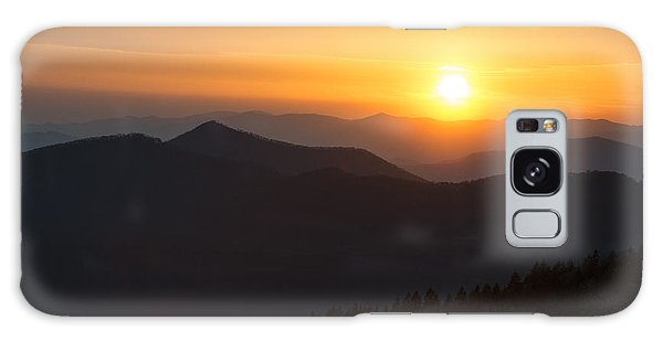 Sunset On The Parkway Galaxy Case
