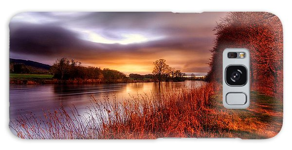 Sunset On The Suir Galaxy Case