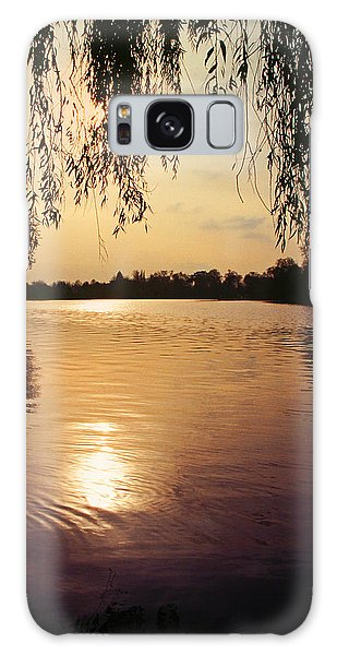 Sunset On The Thames Galaxy Case by John Topman