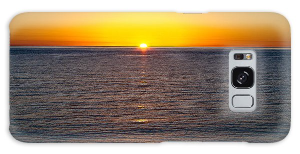 Sunset Over Baja Galaxy Case by Atom Crawford