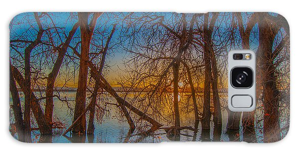 Sunset Over Barr Lake_2 Galaxy Case