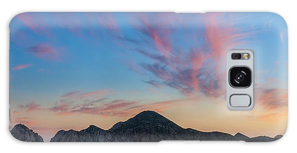 Sunset Over Cabo Galaxy Case by Sebastian Musial