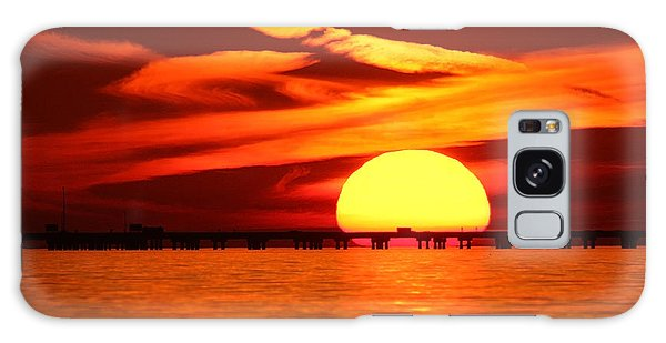 Sunset Over Causeway Galaxy Case
